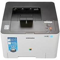 Samsung Xpress SL-C1810W Laser Printer - Color - 9600 x 600 dpi Print - Plain Paper Print - Desktop - 19 ppm Mono / 19 ppm Color Print - 251 sheets Input - Manual Duplex Print - LCD - Gigabit Ethernet - Wireless LAN - USB SL-C1810W/XAA (SamsungSL-C1810W/XAA )