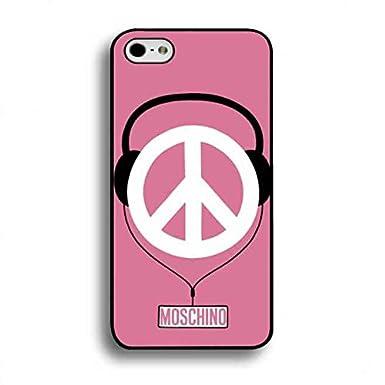 timeless design 5eb33 98b71 Apple iPhone 6 Case Ultra Thin Case Pink Design Brand Logo Moschino ...