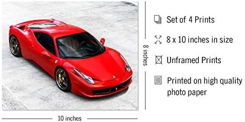 Picture Poster Print Art A0 A1 A2 A3 A4 0704 FERRARI CALIFORNIA Car Poster