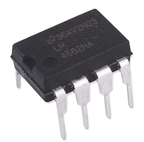Amazon.com: Nacional semiconductores lm4562na Amplificador ...