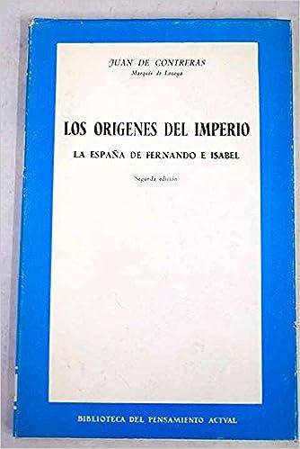LOS ORIGENES DEL IMPERIO. La España de Fernando e Isabel: Amazon ...