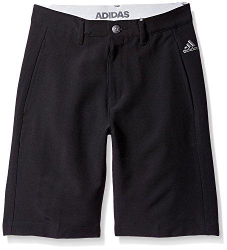 adidas Golf Boys Ultimate Shorts, Black, (Taylormade Childrens Clothing)