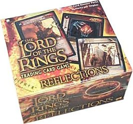 Lord of the Rings Card Game Reflections Booster Box by Webkinz