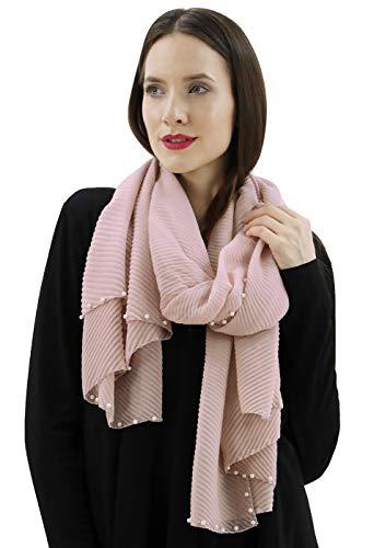BENANCY Women's Lightweight Solid Color Scarf Fashion Long Shawl Wrap 58375 P ()