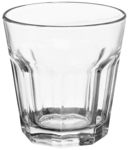 Anchor Hocking 90006 3-1/4'' Diameter x 3-3/8'' Height, 7 oz New Orleans Rock Glass (Case of 36) by Anchor Hocking