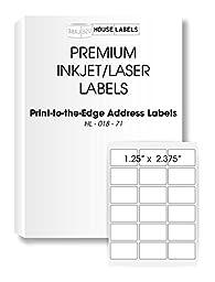 200 Sheets; 3,600 Labels, 18-UP, Address Labels (2-3/8\