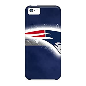 Hot New England Patriots First Grade Tpu Phone Case For Iphone 5c Case Cover