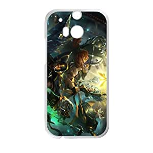 HTC One M8 Cell Phone Case White League of Legends Fnatic Janna OIW0445535