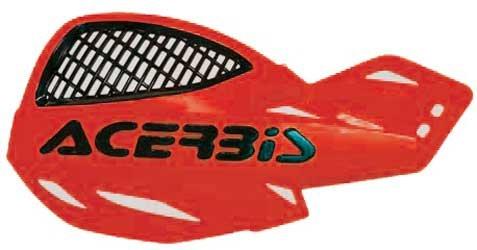 Acerbis 2072670004 Uniko Red Vented Handguard (Acerbis Atv)