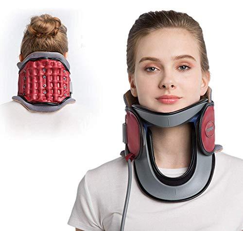 Cuello cervical dispositivo de tracción hogar protección médico inflable cuello Camilla collar con bomba-en cualquier...