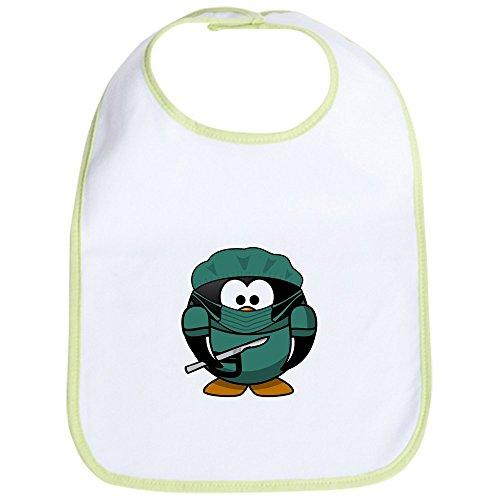 Truly Teague Baby Bib Little Round Penguin - Doctor Surgeon - Kiwi