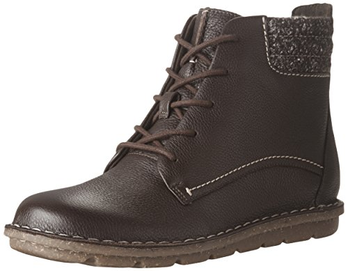 Clarks Mujeres Tamitha Rose Bota Dark Brown Leather