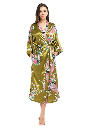 oriental silk dressing gown - 7