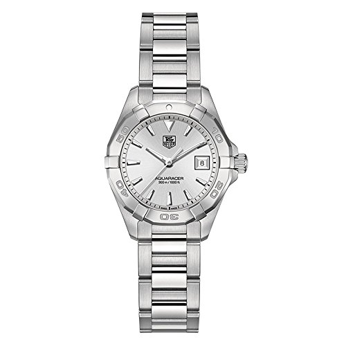 TAG Heuer Womens WAY1411.BA0920 Analog Display Quartz Silver Watch