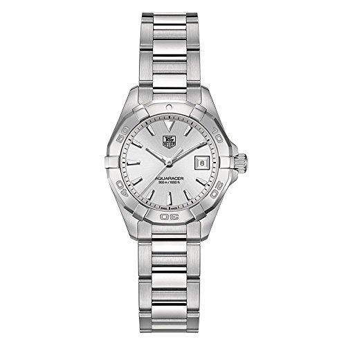 TAG Heuer Womens WAY1411.BA0920 Analog Display Quartz Silver Watch