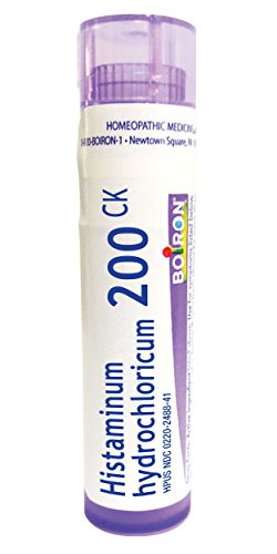 Boiron Histaminum Hydrochloricum 200CK, 80 Pellets, Homeopathic Medicine for Allergy Relief