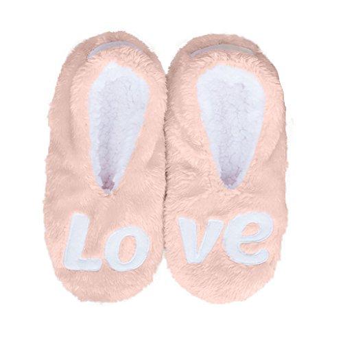 Faceplant Dromen Houden Van Roze Slipper Footsies (large 9/10)