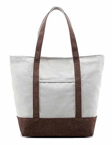 Coffee Ropbl180751 Handbags Buyer Women Casual Odomolor Canvas Party Pwq4YY