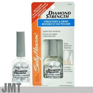 Formaldehyde Nail Hardener - Sally Hansen Diamond Strength Instant Nail Hardener, 3478 Clear, 0.45 Ounce (1 Count), Fortify and Harden Nails to Prevent Cracking, Splitting, Tearing and Breaking of Fingernails