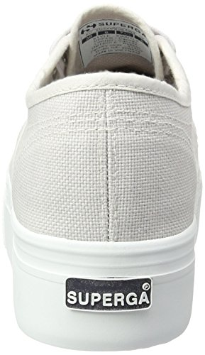 grey Seashell Para Down acotw And Up Linea Zapatillas Superga 2790 Sg04 Mujer Gris 6UwSqOv