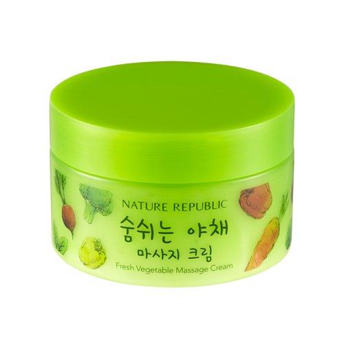 [Nature Republic] Fresh Vegetable Massage Cream 200ml