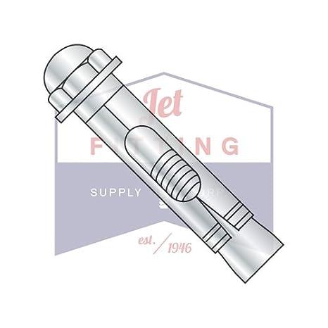 Zinc Steel Acorn Head QUANTITY: 100 1//4X1 3//8 Sleeve Anchors