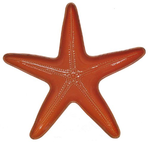 Stoneware Starfish Coral Server, 13