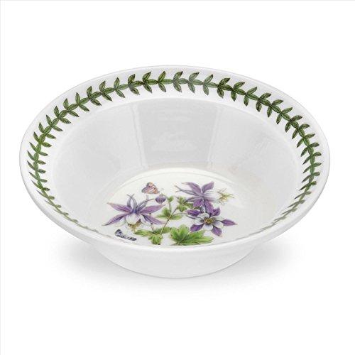 Botanical Garden (Portmeirion Exotic Botanic Garden Oatmeal/Soup Bowl, 6.5-Inch, Set of 6)