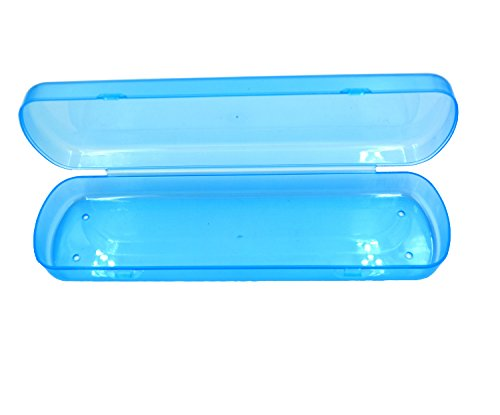 Price comparison product image Duttek Travel Toothbrush and Toothpaste Plastic Storage Box (Blue)