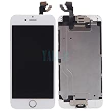 """Full LCD Touch Screen Digitizer Assembly +Home Button +Camera For iPhone 6, 4.7"""""""