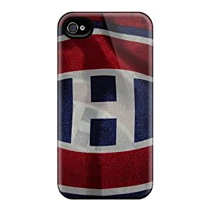 New Style Luoxunmobile333 Montreal Canadiens Premium Covers Cases For Case Iphone 4/4S Cover