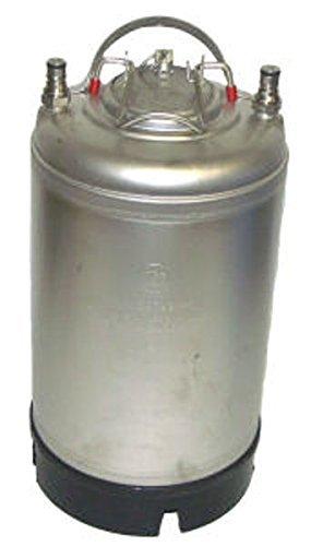AEB HOZQ8-1646 Cornelius Keg, 3 gal, Ball Lock, NEW, Silver