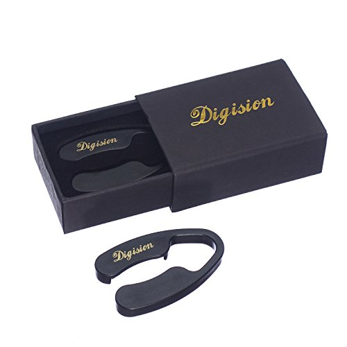 [Pack of 2] DIGISION¨ Wine Bottle Foil Cutter with 4 Stainless Blades, Non-toxic Plastic Body with Gift Package