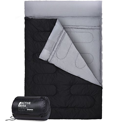 Active Era Double Sleeping Bag - Extra Large - Queen Size - Converts into 2...
