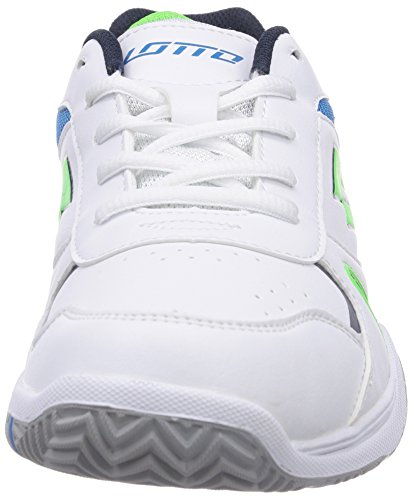 WHITE Lotto Tennisschuhe JR Mehrfarbig FL L Sport MINT Unisex STRATOSPHERE Kinder PPr8xqf