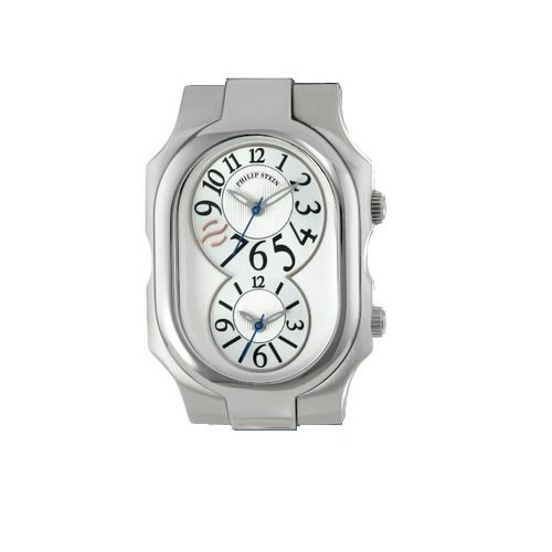 Philip Stein Large Case Unisex Quartz Watch - 2-SIL