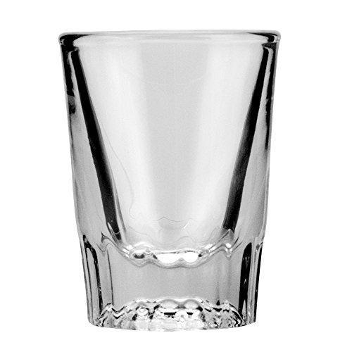 Anchor Hocking 2 oz. Sure Guard Guarantee Whiskey Glass