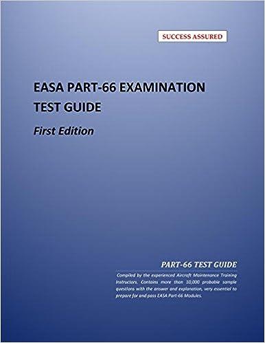 EASA Part-66 Question Bank: Volume-1: Aircraft Maintenance Training