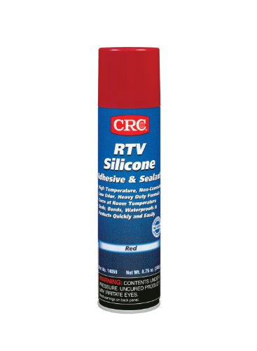 CRC 14059 RTV Silicone Sealant - Red, 8.75 Wt Oz by CRC (Image #1)