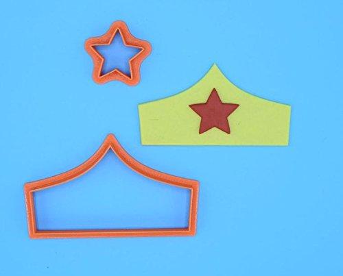 Tiara Fondant Cutter Set (4 x 2.1 inches)