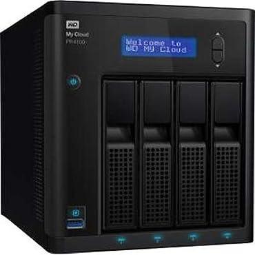 WD My Cloud PR4100 Diskless NAS (WDBNFA0000NBK-NESN)