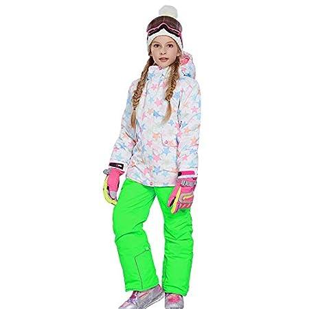 Chaqueta De Esquí para Niñas con Pantalones, Traje De Esquí para ...