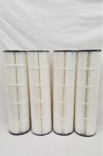 4-PACK EXCEL FILTERS XLS-718 replaces PENTAIR CLEAN CLEAR 420, 178584, R173576, Unicel C-7471, Pleatco PCC105, PCM125, PWW105, PCC105-PAK4, Filbur FC-1977 by Excel Filters