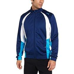 PUMA Men's Mesh Track Jacket