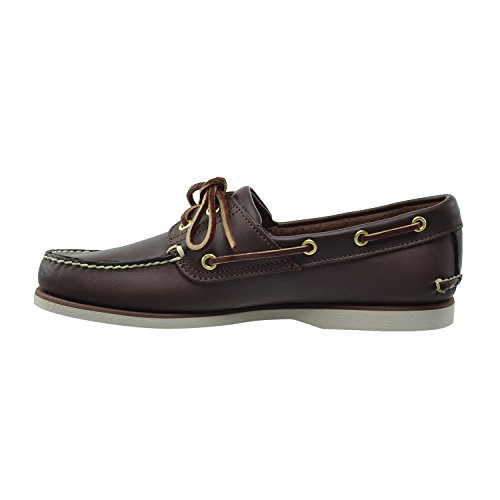 Brown Classic Timberland Boat 2I Men's Shoes 74035 Dark vC1Cq6Yw