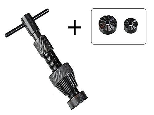 Ventilsitzfrä ser mit 2 Frä skö pfe 3/4'-1' aus Stahl bei abgenutzten Wasserhä hnen MS Warenvertrieb