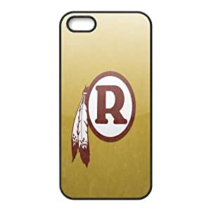 Custom Washington Redskins NFL Series Back Cover Case for iphone 5,5S JN5S-1873