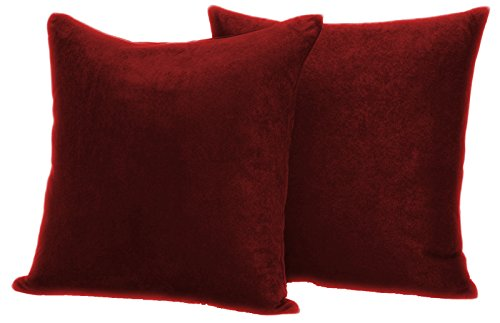 Faux Suede 2 pack Decorative Pillow covers 20
