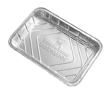 Landmann 0312 - Bandejas recogegotas de Aluminio: Amazon.es: Jardín