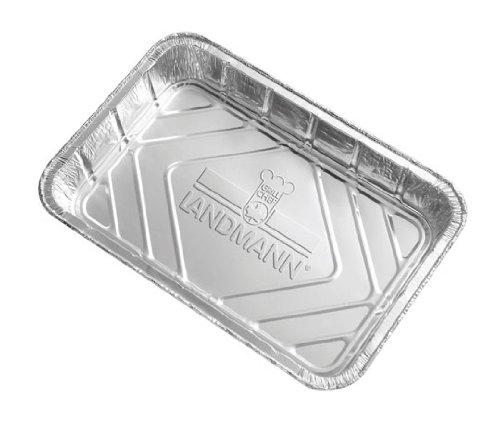Landmann 312 Lèches-frites en Aluminium, Paquet de 10 03122